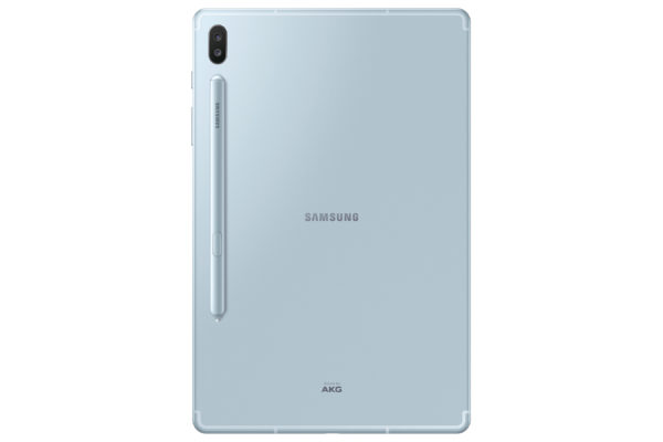 【新聞照片2】 Galaxy Tab S6 LTE 冰川藍 背面