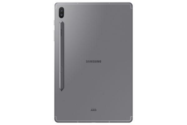 【新聞照片3】 Galaxy Tab S6 LTE 霧岩灰 背面