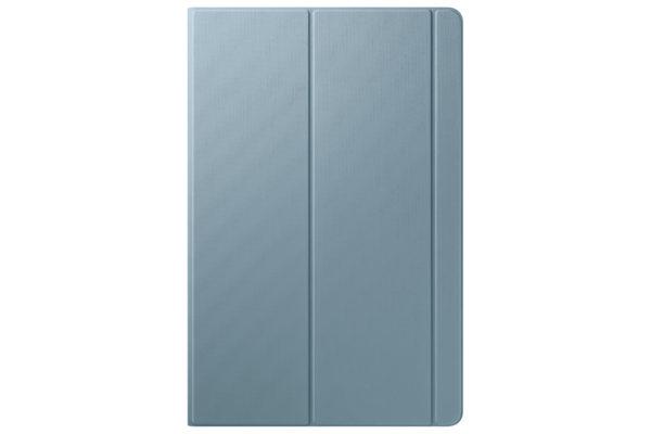 【新聞照片4】 Galaxy Tab S6 LTE 冰川藍 書本式皮套 背面