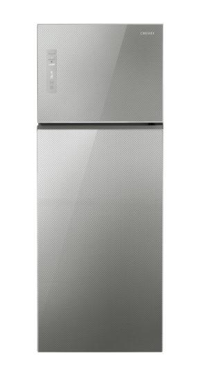圖三-奇美鮮靜美冰箱擁有超廣角立體冷流 能迅速將低溫冷流循環全室並完整包覆食材(圖中商品型號:UR-P48GB1)