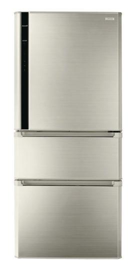 圖六-奇美鮮靜美冰箱擁有超大容量的儲藏空間結合100%OPEN一拉到底的功能 輕鬆好收納(圖中商品型號:UR-P61VC1)