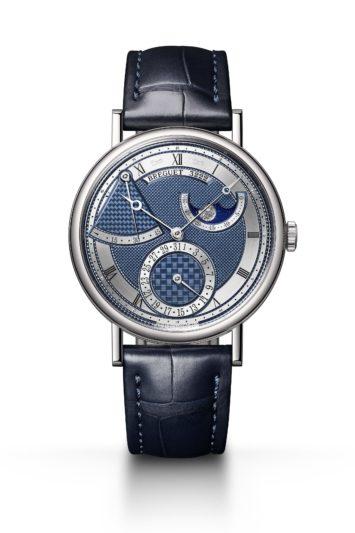 寶璣CLASSIQUE經典系列7137白K金月相腕錶