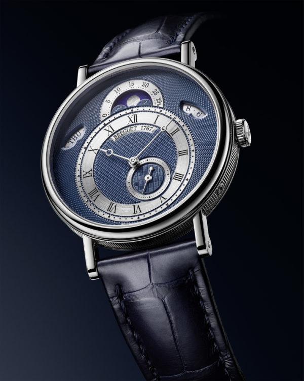 寶璣CLASSIQUE經典系列7337白K金月相腕錶_情境圖02
