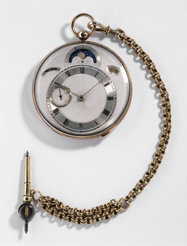 寶璣Classique經典系列7337月相腕錶,靈感汲取自寶璣歷史錶款N°3833懷錶。