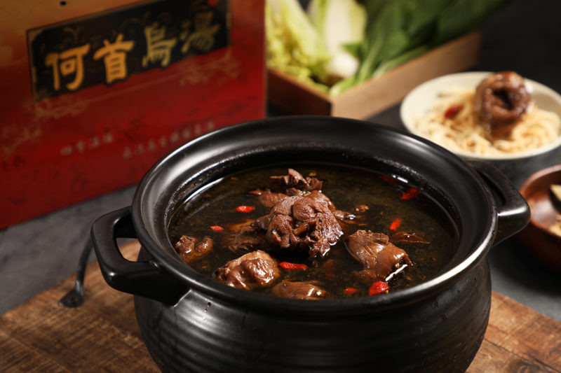 (圖1)台南老字號《民雄海產餐廳》經典手路菜「何首烏帝王雞」