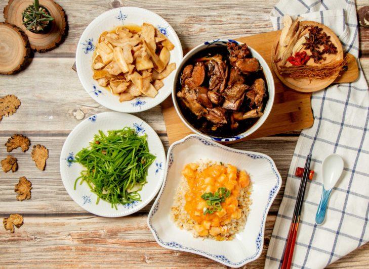 (圖2)《民雄海產餐廳》推出「抗疫養生家庭餐」,滿足養生媽咪口味