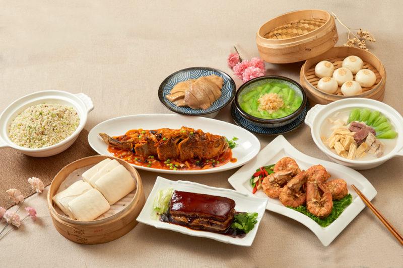 (圖3)《上海鄉村》針對母親節推出的6人份「鄉村套餐」,包含經典的鄉村烤方與多種熱門菜色