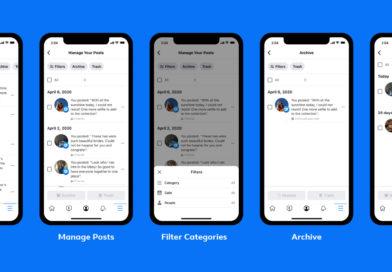 Facebook 推出動態管理工具 協助用戶妥善管理大量貼文