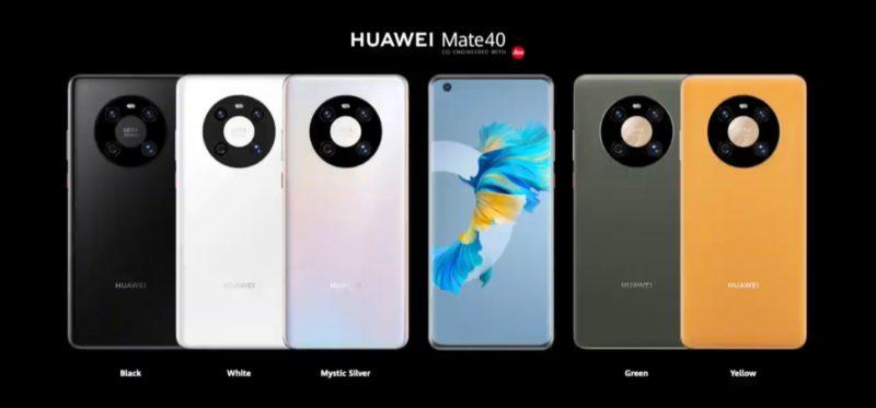 HUAWEI發表Mate40系列四款手機 世界最強空降DXOMARK第一