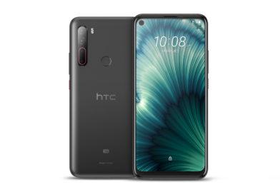 HTC U20 5G曜岩黑新色 即日起上市