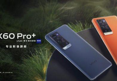 vivo X60 Pro+發表 高通S888+大感光元件+微雲台+蔡司T*鍍膜 豪華規格全都有