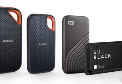 Western Digital旗下品牌 同步推出4款4TB大容量行動SSD