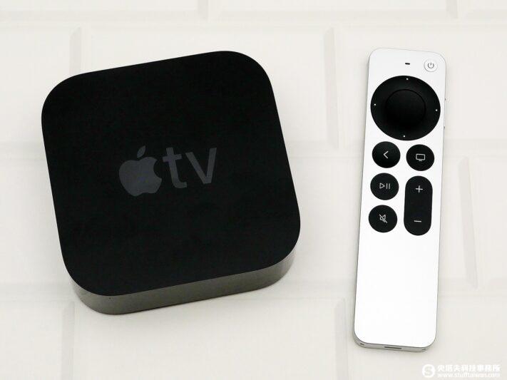 Apple TV 4K 2021開箱 流暢影音體驗 更好用的Siri Remote遙控器